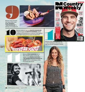 NASH Country Weekly - Crawfish
