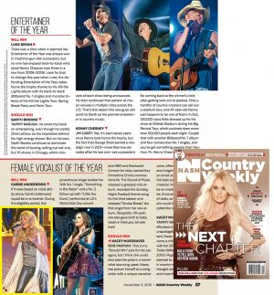 NASH Country Weekly - Carrie Underwood