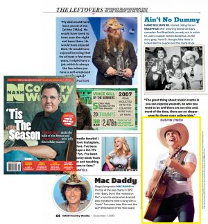 NASH Country Weekly - Dustin Lynch