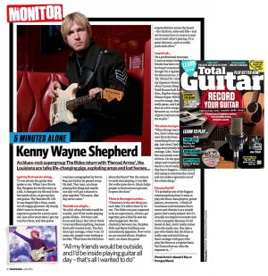 Total Guitar - Kenny Wayne Shepherd