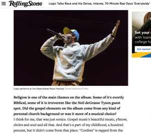 RollingStone.com - Logic