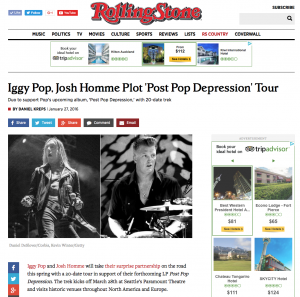 RollingStone.com - Iggy Pop