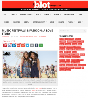 TheBlot.com - Coachella  Fashion