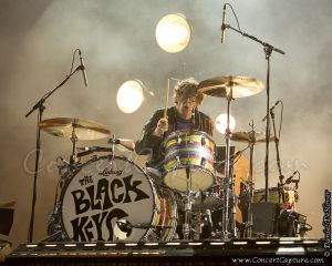 Patrick Carney of The Black Keys performs at the Bottle Rock Music Festival in Napa Valley, CA, USA on Friday, May 10, 2013